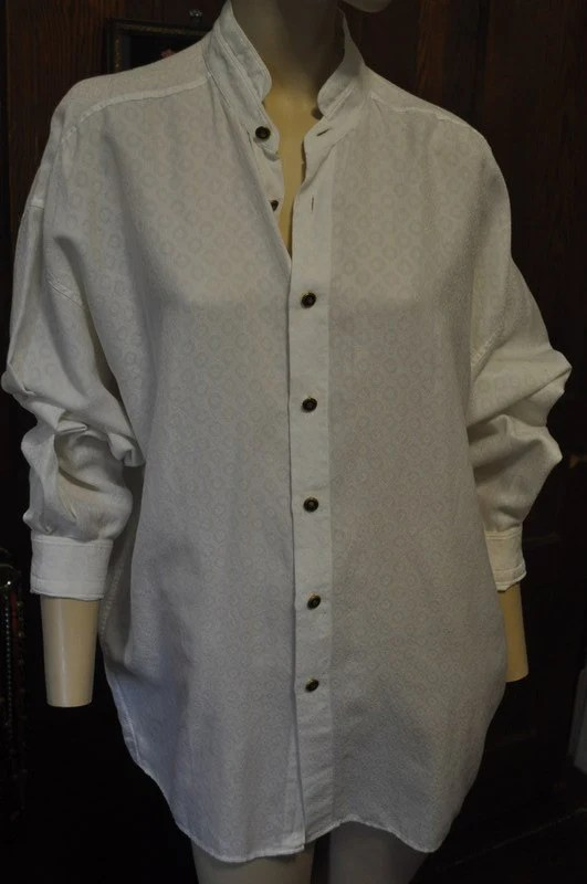 Vintage early 90s Versace classic V2 Unisex shirt Blouse
