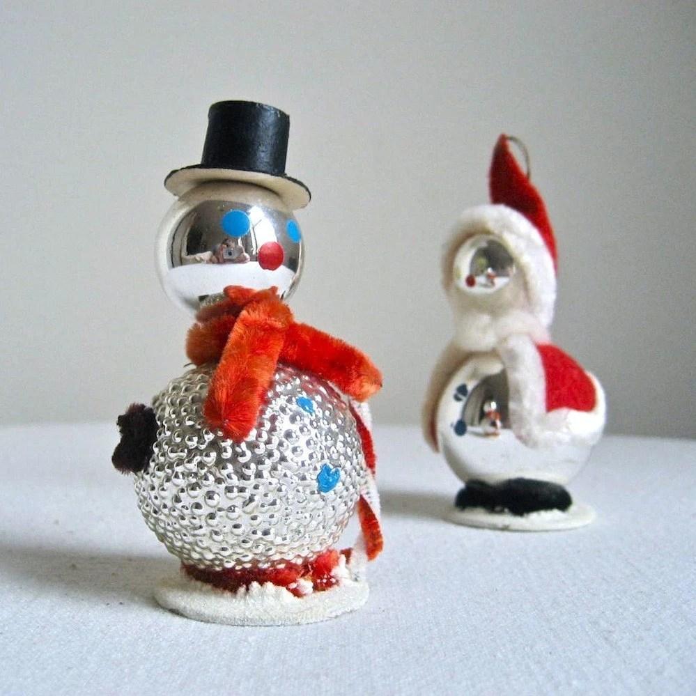1950s Christmas Ornaments