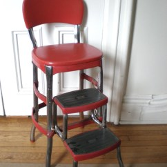 Chair Step Stool Sun Lounge Chairs Target Red Cosco Kitchen With