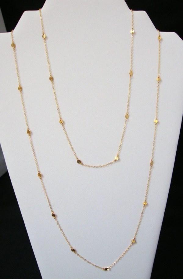 Cougar Town Necklace Worn Courteney 44inch
