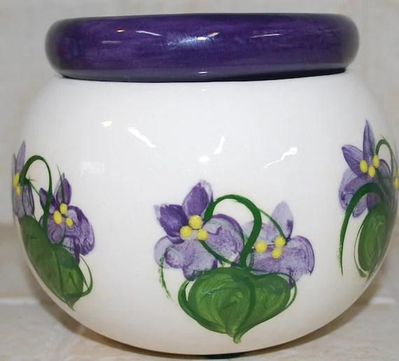 self watering african violet pot Original Design purple 4