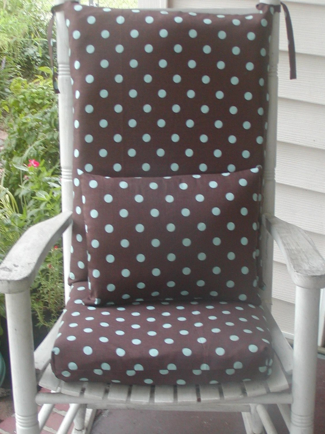 indoor rocking chair cushions side dining chairs upholstered custom made and pillow for by