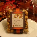 Autumn fall caramel corn popcorn wedding favors by shadow090109