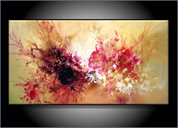 Commission Painting. Modern Abstract Art. Renaeschoeffelart