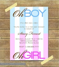 Baby Shower Food Ideas: Baby Shower Ideas For Boy Girl Twins