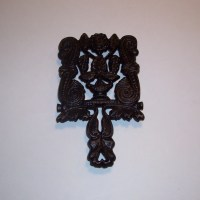 Vintage Kitchen Cast Iron Trivet Pot Holder by BarnFlyVintage