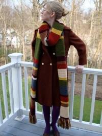 Doctor Who Scarf / Season 12 / Fourth Doctor / 11 Feet Long