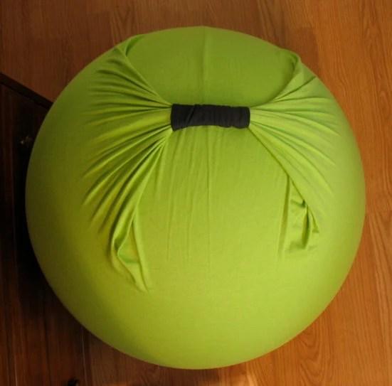 Birth Ball Cover Organic Spring Green