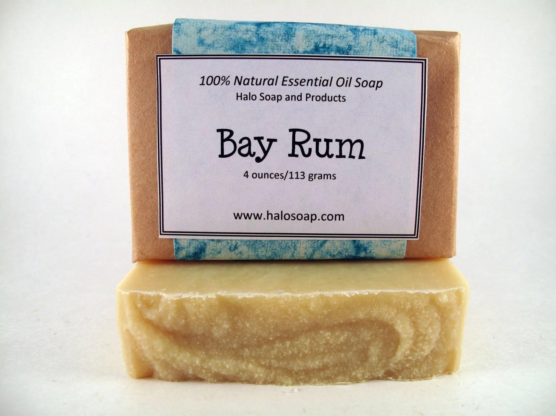 Bay Rum Bar Soap - Vegan - Bay, Lime and Orange - HaloSoap