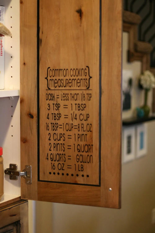 Cooking Measurementsconversion table measurement