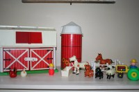 Vintage Fisher Price Barn by TheDapperLemons on Etsy