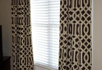 Trellis Curtains Blue