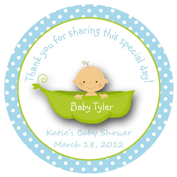 Sweet Pea Baby Shower Theme