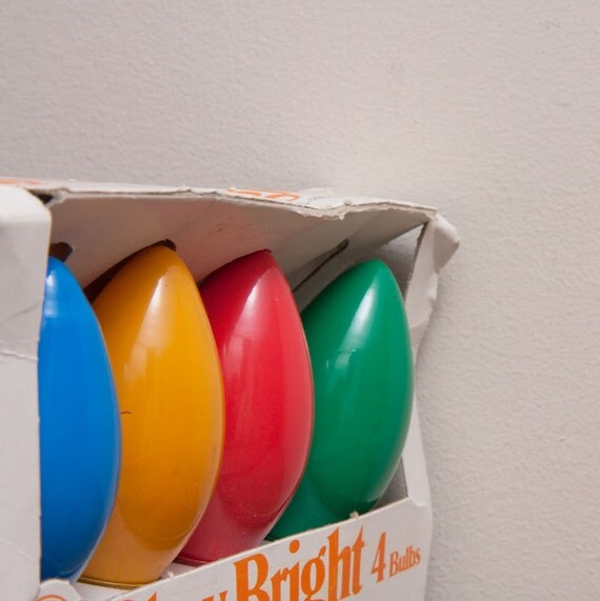 Sale Large Vintage Christmas Light bulbs Retro Outdoor Primary