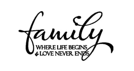 Download Items similar to Family Where Life Begins And Love Never ...