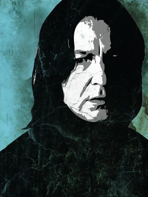 Severus Snape From The Harry Potter Saga Pop Art Print 11 X 14