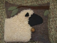 Wooly Sheep Pillow