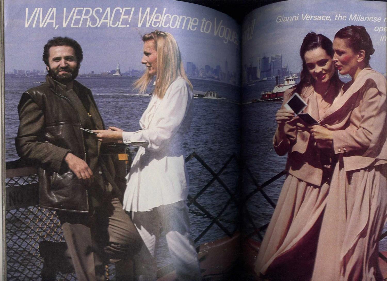 Viva Versace Vogue Patterns November/December 1978