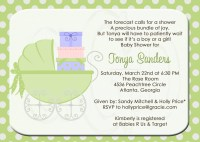 Baby Shower Invitation or Sprinkle for 2nd or 3rd Child
