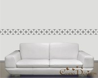 Border Vinyl Wall Decal 14 ft long home decor removable