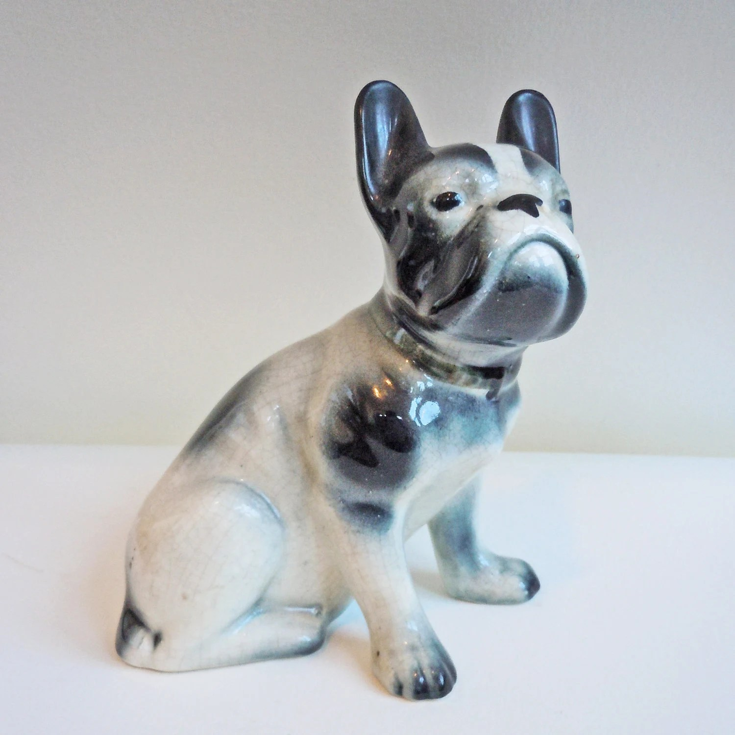 Vintage 1940s French Bulldog Figurine to benefit French