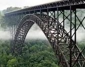 New River Gorge Bridge, West Virginia - 11x14 inch Photographic Print by Brendan Reals - BrendanReals