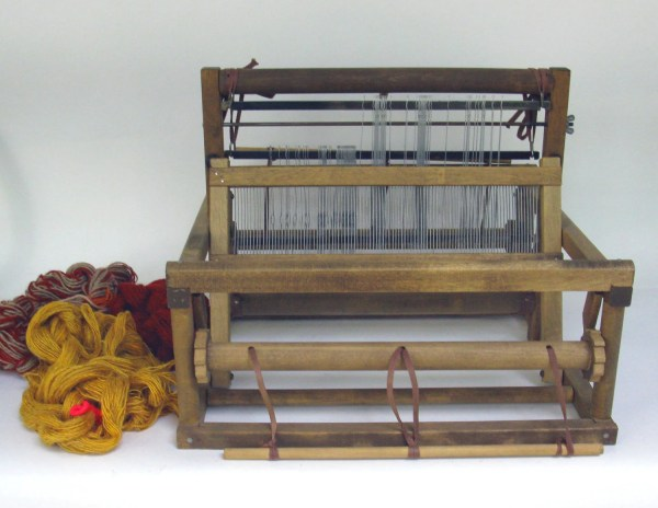 Antique Peacock Table Loom Handcrafters Waupun