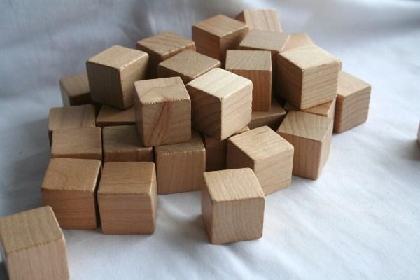 Items Similar Vintage 1 Wooden Blocks Set Of 20
