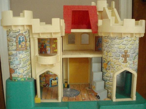 Vintage Fisher Little People Castle 993 1974-1977