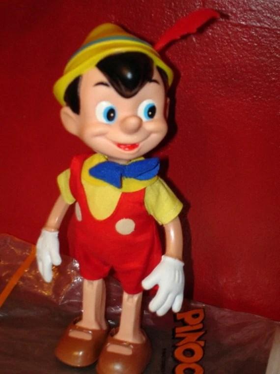 1960s1970s vintage Walt Disney Disneyland Pinocchio