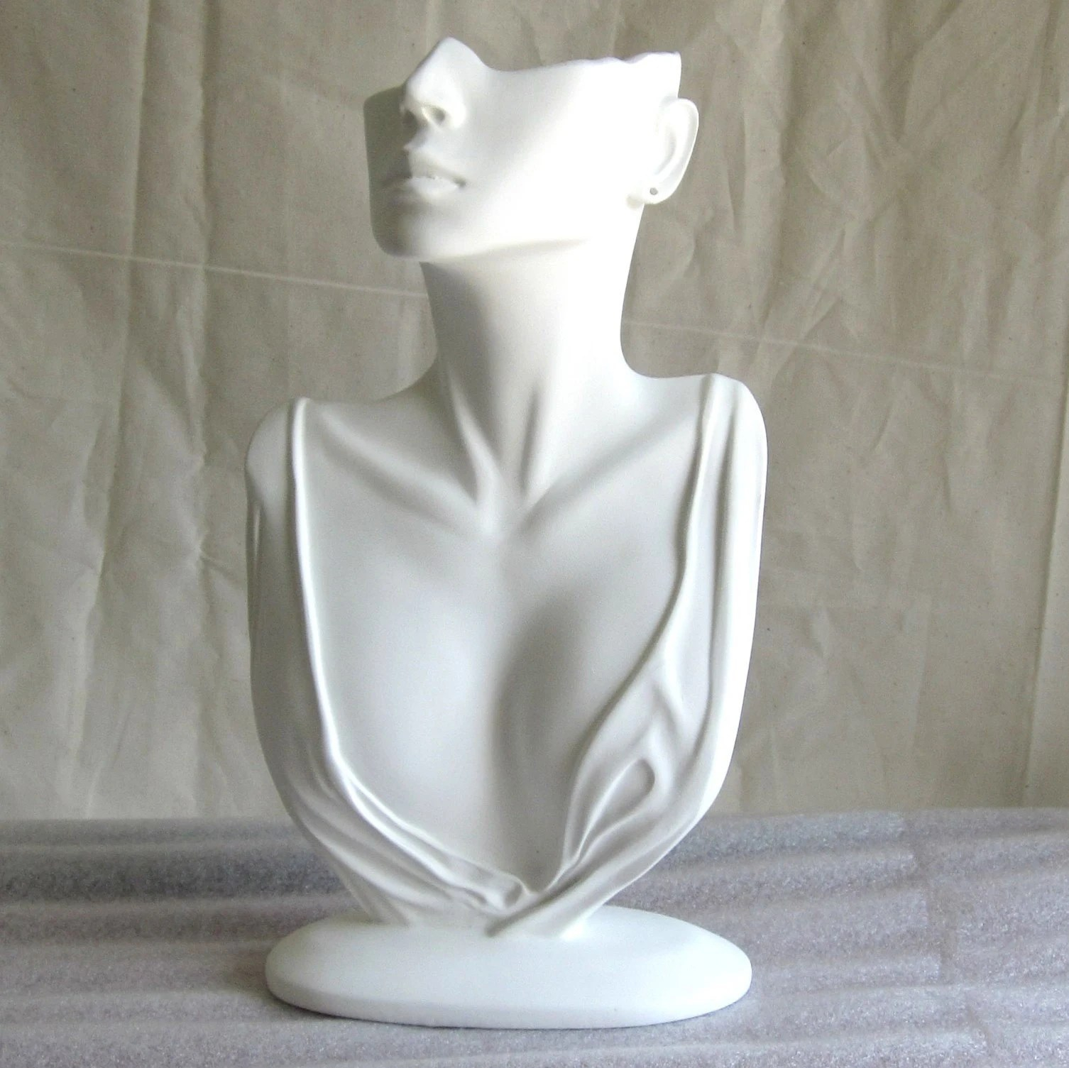 Mannequin Bust Jewelry Display By Beforemeetsafter On Etsy