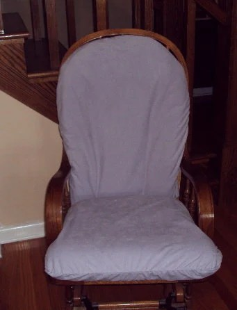 slipcover for glider rocking chair sit n gym ball nursery rocker covers your cushions