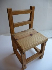 Wood Handmade Wooden Chairs PDF Plans