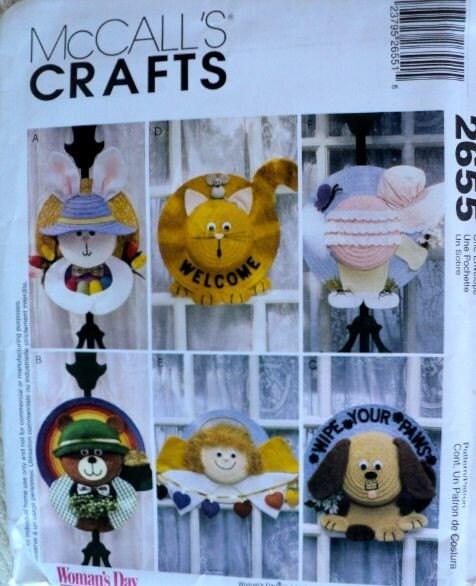 Canvas Bear Pre Cut Plastic