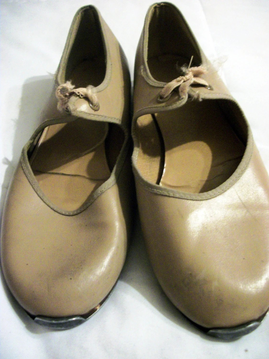 Tan Shoes Tap