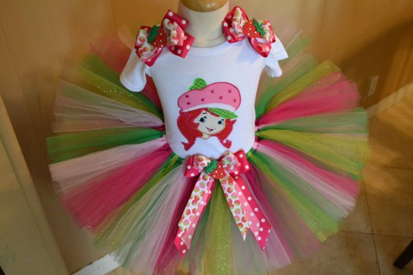 Strawberry Shortcake Tutu