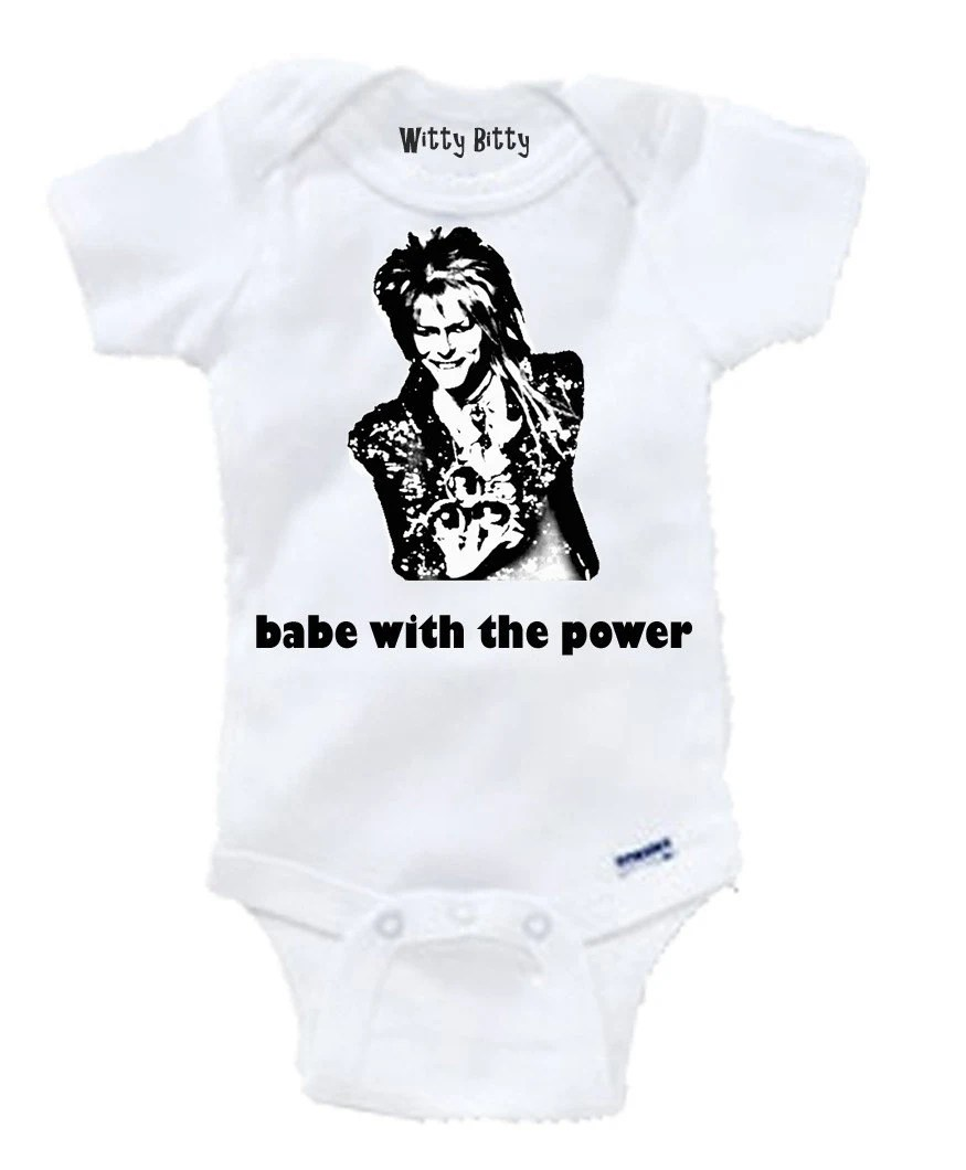 LABYRINTH DAVID BOWIE The babe with the power Jareth the