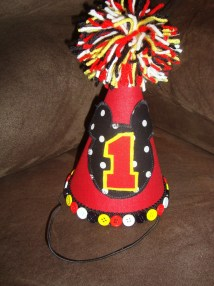 Mickey Birthday Hat 1st