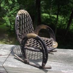 Horseshoe Rocking Chair Foldable Floor Singapore Vintage Handmade For Teenie Tiny
