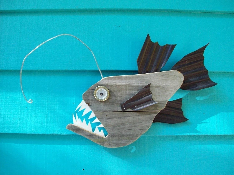Fish Yard Ornaments