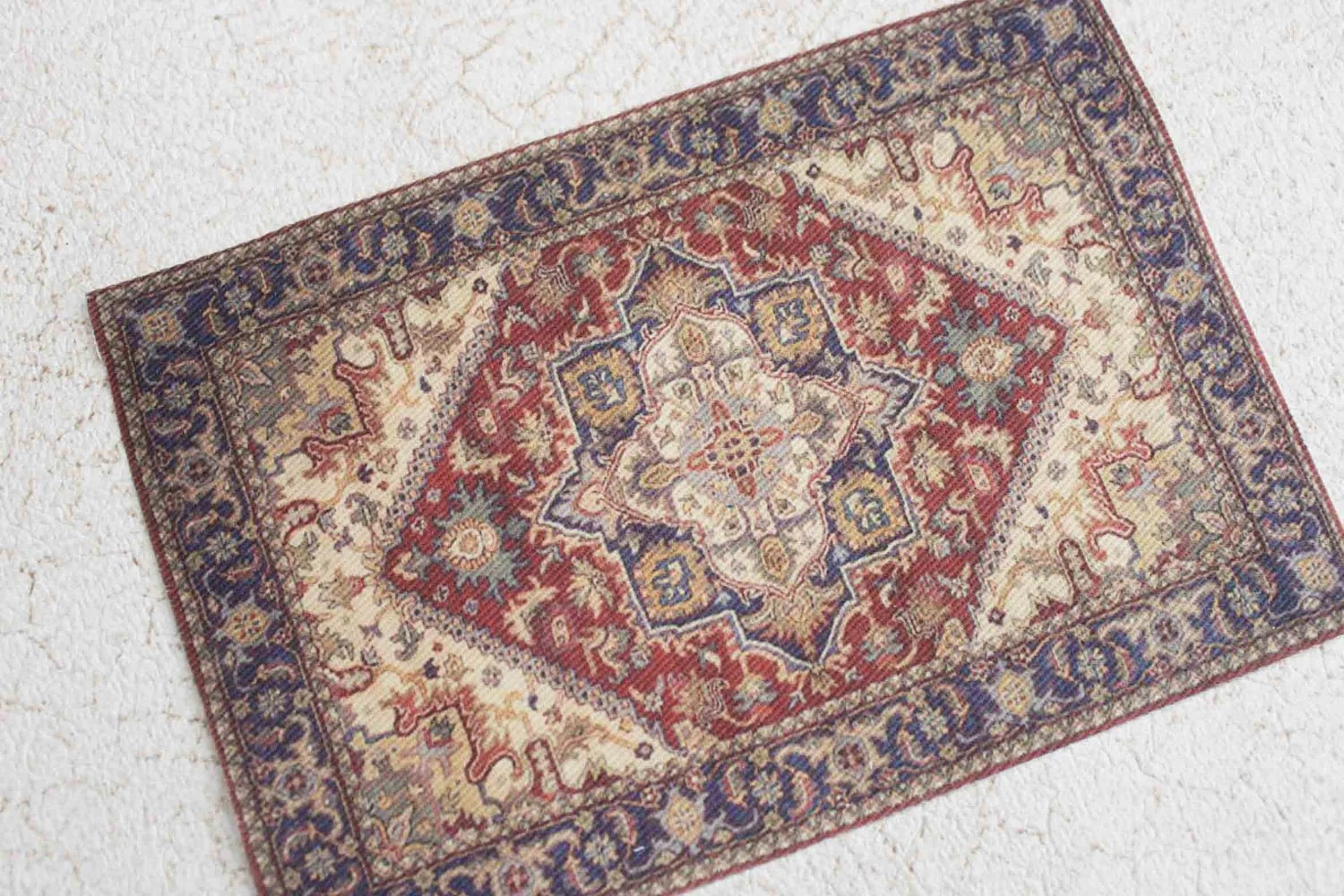 Miniature Dollhouse Rug Victorian or Edwardian Era by