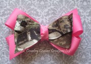 realtree ap camo & hot pink hair