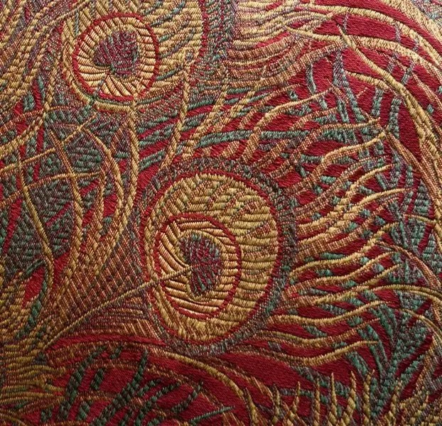 Peacock Tapestry Upholstery Fabric 518 Yards 55 by