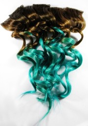 ombre sea dreams brown turquoise