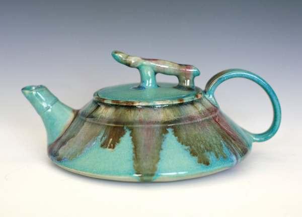 Handmade Porcelain Teapot Ceramic