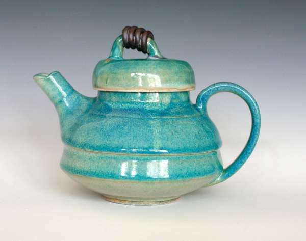 Kazimoto Teapot Handmade Ceramic