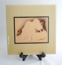 Vintage RC Gorman Ceramic Tile Mother and Child by AtomicAlley