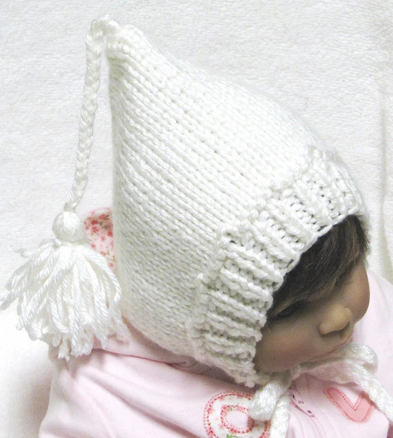 Knitted Baby Ear Flap Knit Hat