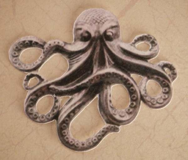 Steampunk Octopus Cutout Scrapshooter