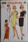 Vintage Evening Dress Pattern